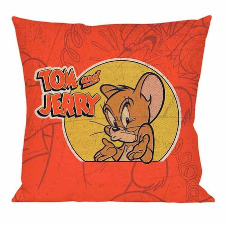 Almofada Tom e Jerry Bravo Hanna Barbera