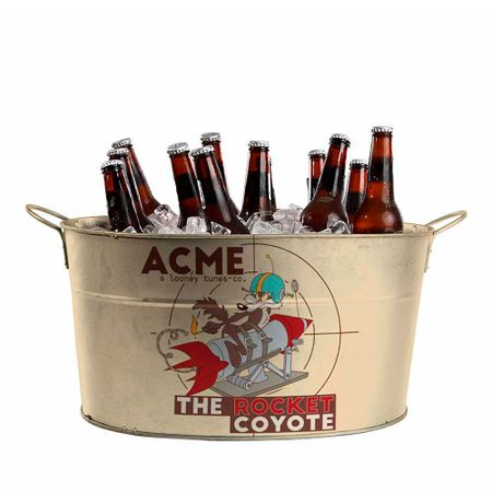Balde de Gelo de Metal Coiote ACME Looney Tunes