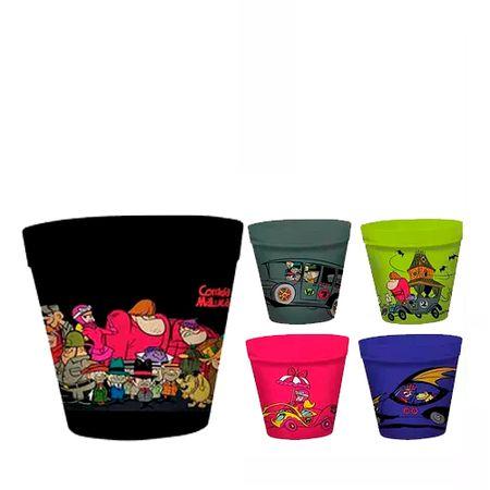 Balde de Pipoca Corrida Maluca Hanna Barbera - 5 Unidades