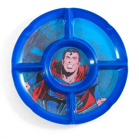 Petisqueira Redonda Dc Comics Superman 5 Divisorias