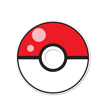 Adesivo Olho Magico Pokebola Pokemon