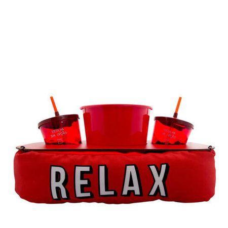 Almofada Porta Pipoca Relax Netflix