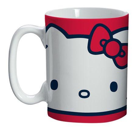 Mini Caneca Hello Kitty Laço Vermelho