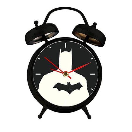 Relógio de Mesa em Metal Batman DC Comics