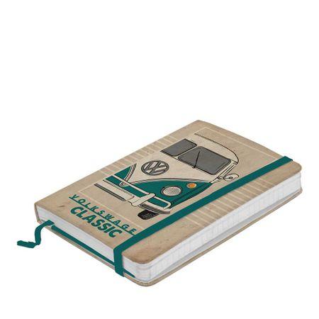 Caderno de Anotação com Elástico Kombi Classic Volkswagen
