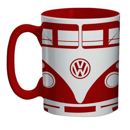 Mini Caneca Kombi Vermelha Volkswagen