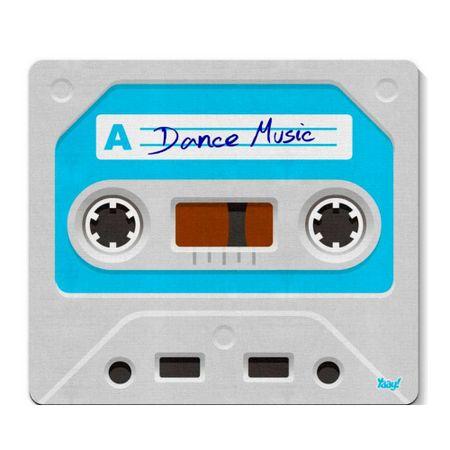 Mouse Pad Fita Cassete K7 Retro Dance Music