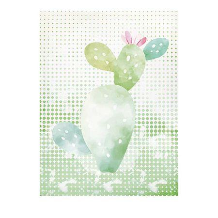 Tela Decorativa Cactus Cacto