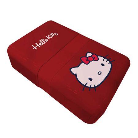 Lancheira Marmita Hello Kitty Laço Vermelho