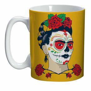 Mini_Caneca_Frida_Kahlo_Caveir_617