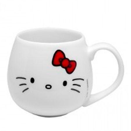 Caneca Bojuda Hello Kitty Laço Vermelho