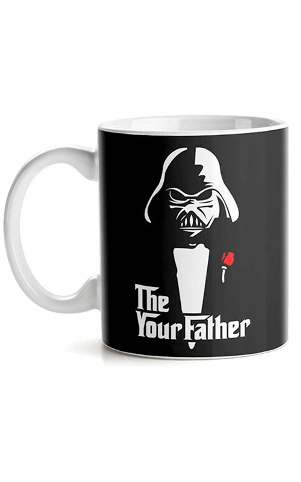 Foto 1 - Caneca Darth Vader O Poderoso Chefao Star Wars