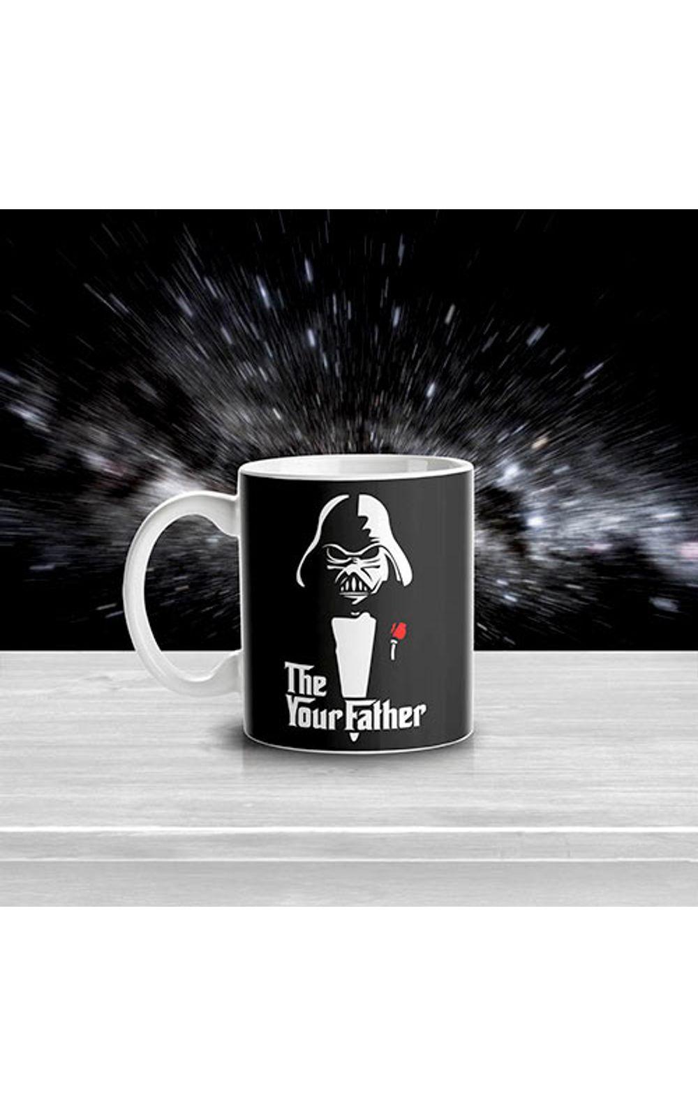 Foto 2 - Caneca Darth Vader O Poderoso Chefao Star Wars