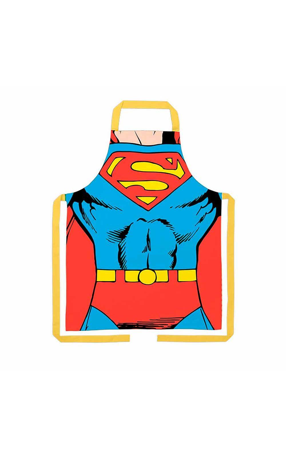 Foto 1 - Avental de Cozinha Super Homem DC Comics