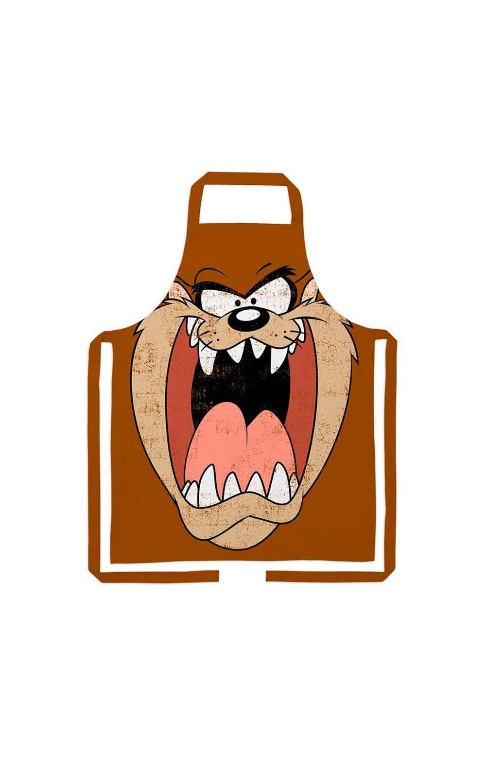 Foto 1 - Avental de Cozinha Taz Mania Looney Tunes