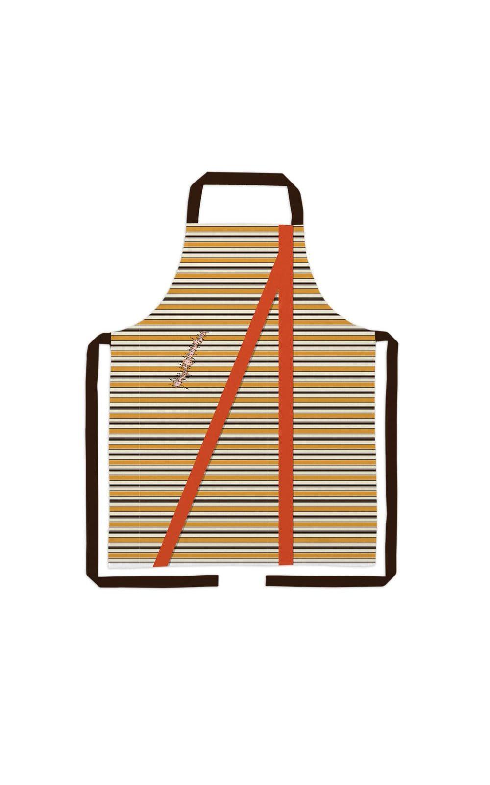Foto 1 - Avental De Cozinha Chaves Colorido