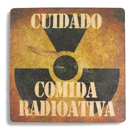 Descanso de Panela Comida Radioativa