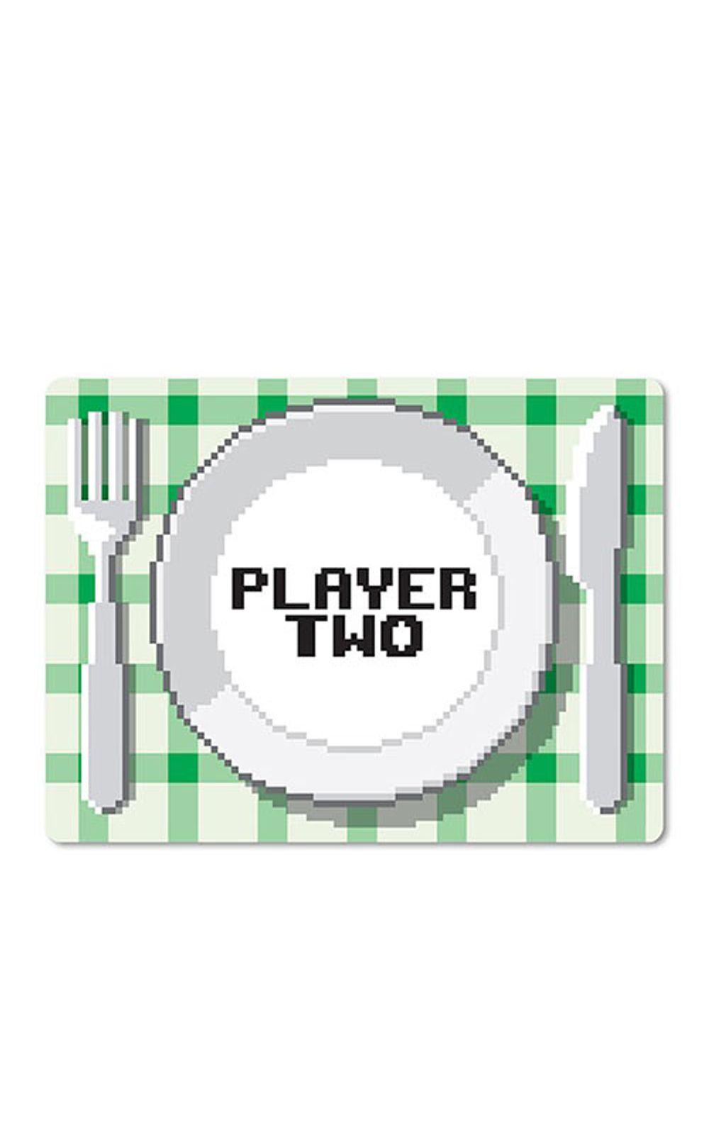 Foto 3 - Jogo Americano Players Gamers - 2 pecas