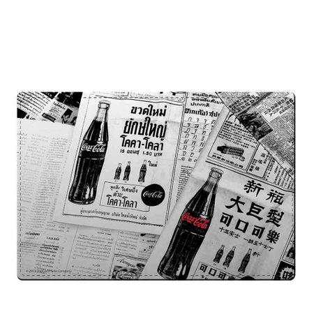 Jogo Americano e Porta Copos Coca-Cola Jornal - 4 Pecas