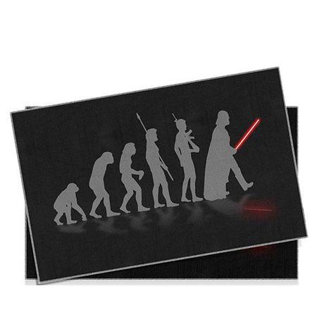 Jogo Americano Star Wars Evolucao - 2 pecas