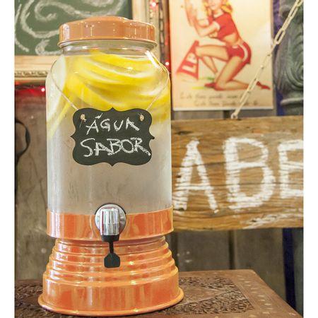 Suqueira de Vidro 3,2 litros Laranja